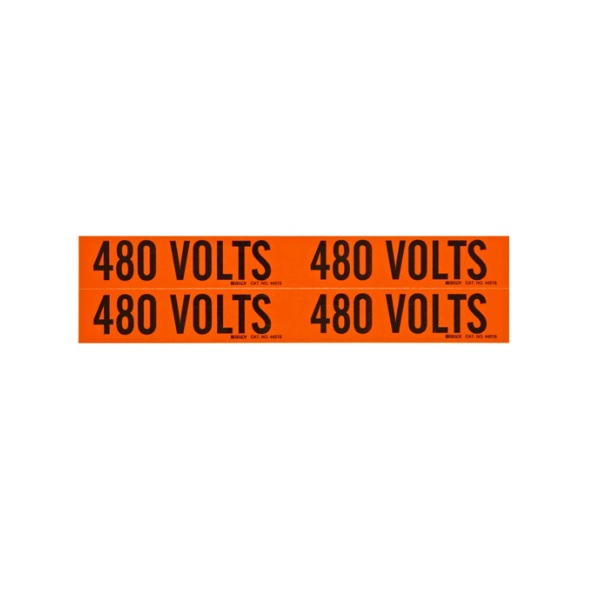 Conduit & Voltage Marker Marker 480 Volts - Accessories