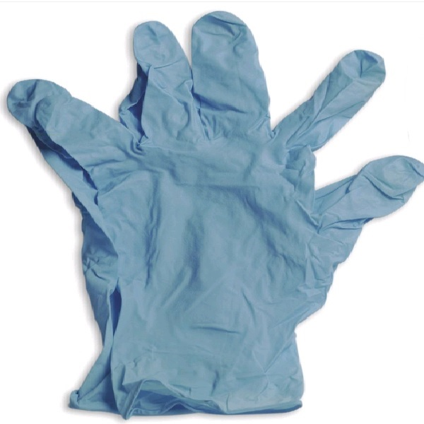 Gloves, Disp., Nitrile One Size, Blue, Pk2 - Chemical Resistant