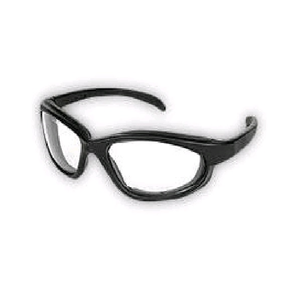 Glasses, Safety, Glasses , Safety~  Pantera, Black - Clear Lens
