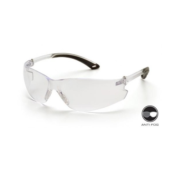 Glasses, Safety, Clear, Anti-Fog - Clear Lens