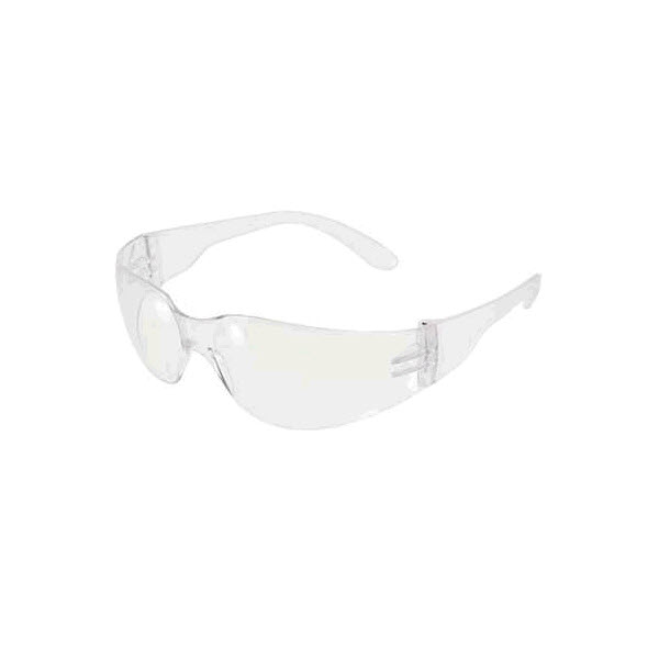 Glasses, Safety, Mirage, Clear, Anti Fog, 12/Box - Clear Lens